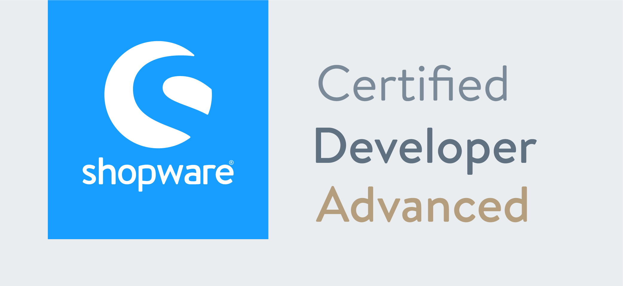 SHOPWARE Certified Advanced Developer